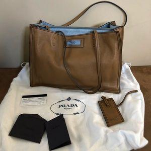💯% Authentic Prada Etiquette Bag
